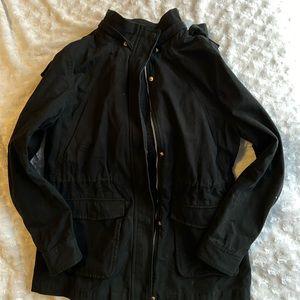 2/25🌸 Women's Forever 21 Black Utility Jacket